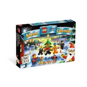 Lego City Advent Calendar   2009 Toys & Games