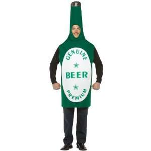 Lets Party By Rasta Imposta Beer Bottle Costume / Green