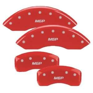 MGP Caliper Cover 12005 S MGP RD Red Powdercoat Brake Caliper Cover