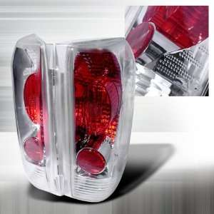 1989 1996 Ford F150 Altezza Tail Lights Chrome Automotive