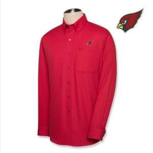Cutter & Buck Arizona Cardinals Mens Nailshead Long Sleeve Shirt