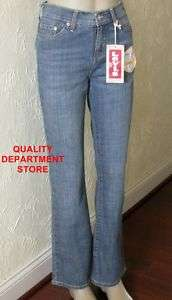 NEW 512 LEVIS PERFECTLY SLIMMING BOOT CUT STRETCH JEANS