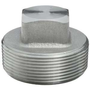 Forged Stainless Steel Pipe Fitting, Plug, Class 3000, 3/8 NPT Male