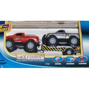 Off Road Trucks Dodge Ram & Chevy Silverado 4x4/4xFours Toys & Games