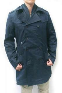 NWT DIESEL Brand Mens Jacket Jiompa Long Trench Coat w Belt