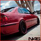 20 BMW E39 525 528 530 540 VERTINI MAGIC CONCAVE BLACK STAGGERED