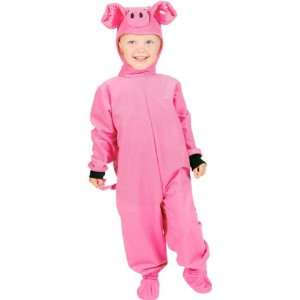 Childs Pig Halloween Costume (Size Small 4 6) Toys & Games
