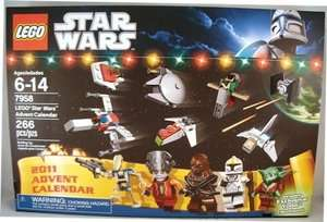 LEGO Star Wars Advent Calendar 2011 (7958) Brand New in Sealed Box