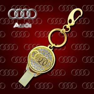 Brand Style USB Flash Drive with Key Chain
