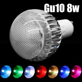 Million Color Changing RGB E27 Gu10 8W 9W LED Light Lamp Flash Bulb