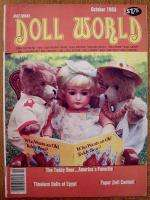 Lot of 5 NATIONAL DOLL WORLD Magazine Back Issues