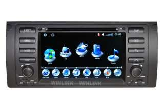 Hot BMW 7 Series E38/E39 in dash Car DVD Player GPS Navigation Win Ce6