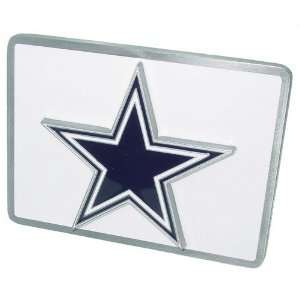 Dallas Cowboys NFL Pewter Trailer Hitch Cover Sports