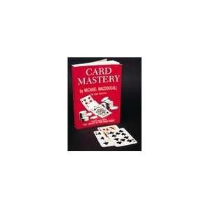 Card Mastery Magic Trick Book by Magician Michael