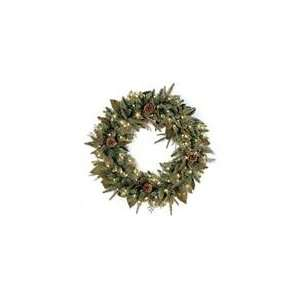 Green River Spruce Artificial Christmas Wreath   Clea