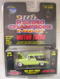 RACING CHAMPIONS MINT 1956 CHEVY NOMAD GREEN VERY RARE