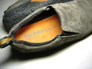 Gently Worn MERRELL All Weather JUNGLE MOCS Mens Size 9 1/2