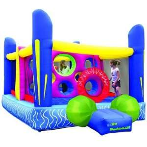 Kidwise Jumpn Dodgeball Inflatable Bounce House Bouncer Toys & Games