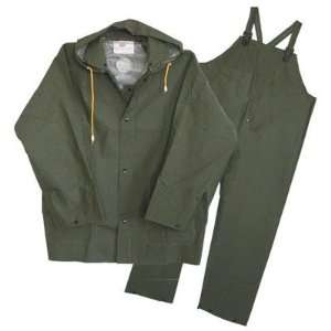 Boss 3PR0300GJ 3 Piece Extra Extra Large Green Lined Rain