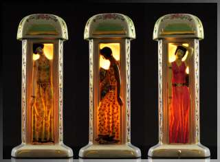 Awesome French ART DECO Perfume TABLE LAMP Night LIGHT Mood Lamp