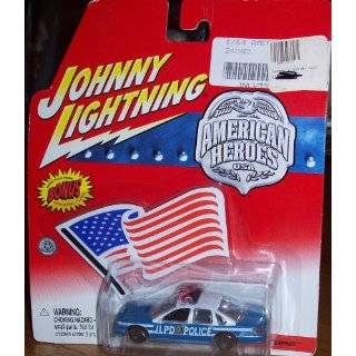 Johnny Lightning AMERICAN HEROES JLPD POLICE CHEVY CAPRICE
