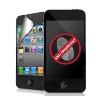 NEW FRONT BACK ANTI GLARE SCREEN PROTECTOR FOR iPHONE 4