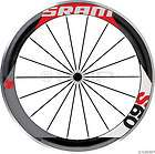 SRAM S60 Front Clincher Wheel Black w/Red Decal