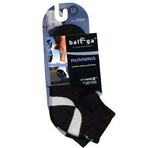 Balega Enduro Lo Cut Mens Running Socks   Black Sports