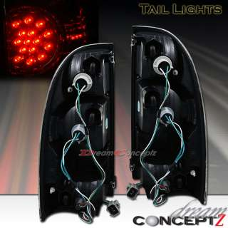 2005 2006 2007 2008 TOYOTA TACOMA LED TAIL LIGHTS BLACK