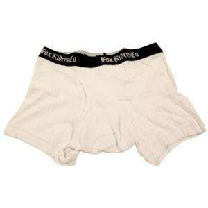 Fox Racing Boxer Briefs   Large/White Automotive