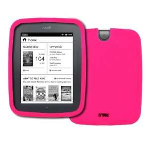 Nook Simple Touch Hot Pink Silicone Skin Case Cover [EMPIRE Packaging