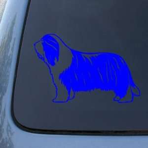 BEARDED COLLIE   Dog   Vinyl Car Decal Sticker #1492  Vinyl Color