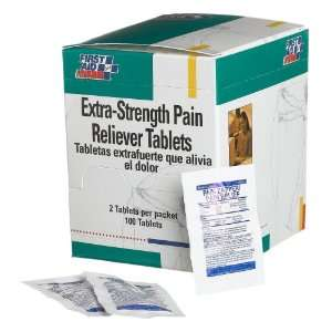 First Aid Only Extra strength Pain Reliever Tablets, 50 2