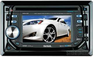 SOUNDSTORM DOUBLE 2 DIN BLUETOOTH 4.5 TOUCHSCREEN MONITOR CAR DVD/USB