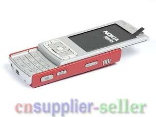 New Unlocked Nokia N95 3G WIFI GPS 5MP Cell Phone Red 758478012536