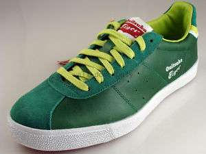 new retro Asics Onitsuka Tiger Lawnship tennis green shoes mens 8.5