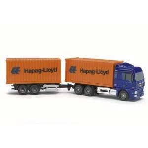 MAN Hapag Loyd Truck with Trailer Toys & Games