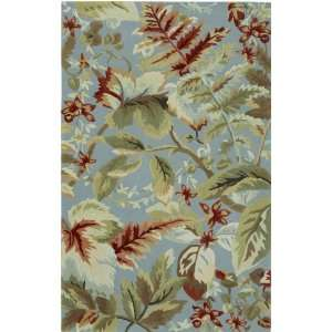 Hand Tufted Floral Indoor Outdoor Rug 7001 3.60 x 5