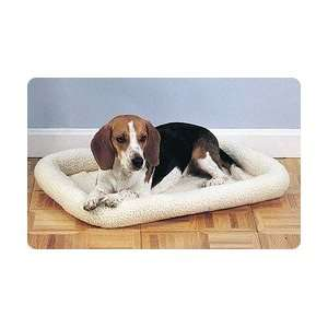 Bolster Fleece Bed for Pet Puppy Kitten Dog Cat 42 x 31