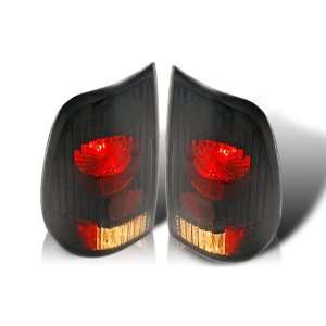 97 03 FORD F150 STATE SIDE ALTEZZA TAIL LIGHT   BLACK