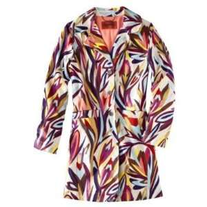 Missoni for Target Womens Floral Jacquard Colore Trench Coat   Size