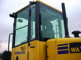 Komatsu WA150 5 Wheel Loader with Cab with A/C GP Bucket w/BOCE