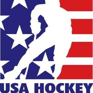 USA NHL National Hockey Auto Car Wall Decal Sticker 6X6