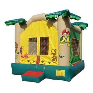 Kidwise 15 Foot Jungle Bounce House (Commercial Grade) Toys & Games