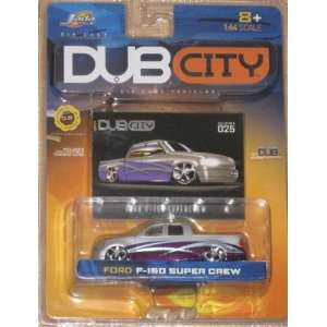 Jada Dub City 164 FORD F 150 SUPER CREW Toys & Games