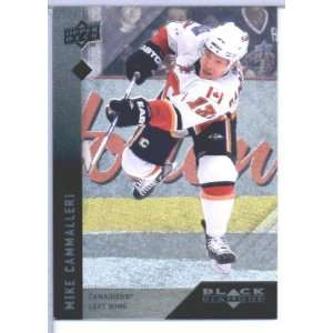 /10 Upper Deck Black Diamond Hockey # 78 Mike Cammalleri Canadiens