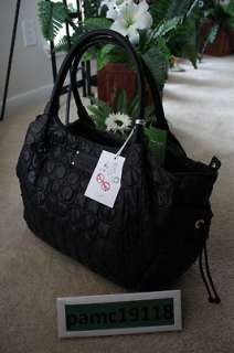 KATE SPADE NEW YORK STEVIE BABY BAG CHAMONIX BLACK @$395 (098689319292