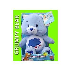 Care Bears Grumpy Bear Stuffed Character Toy (approximately 8 inches