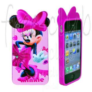 Disney Minnie Mouse Charming Dress Case Cover for iPhone 4/4S
