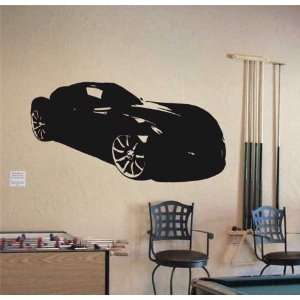 Wall MURAL Vinyl Sticker Car TVR SONITUS SPORT 020